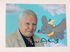 David Attenborough Hand Signed Photo