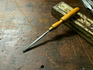 """Antique Marples Bevel Edge Paring Chisel 1/4"""" Made in Sheffield"""