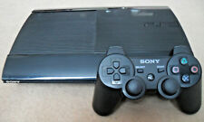 Sony PlayStation 3 (PS3) Super Slim 12GB Charcoal Black Console (CECH-4003A) VGC