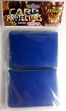 100 Card Way Card Protectors Sleeves blau - von Trendus -
