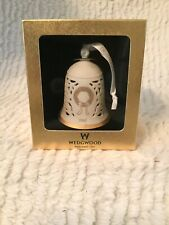 New 2002 Wedgwood England Pierced Bell Christmas Ornament.