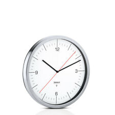 Blomus Horloge Radio Crono Argent/blanc