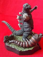 "GODZILLA MOTHRA Diorama BANDAI SOLID PVC Figure 3.1"" 8cm KAIJU UK DESPATCH"
