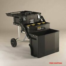 Stanley Fatmax Portable Toolbox Rolling Cabinet Storage Tool Chest Mechanic NIB