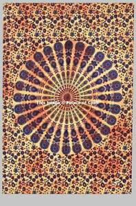 Mandala Dorm Decor Indian Cotton Small Wall Hanging Tapestry Table Cover Hippie