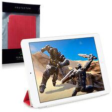 Funda Protectora Cubierta inteligente iPad Air & & Sleep Plegable Soporte de reactivación de Auto Rojo