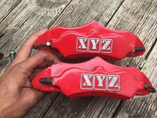 XYZ 6 POT BIG BRAKE CALIPERS & PADS INTEGRA TYPE R DC2 CIVIC EK9 EK4 VTI EG6 CRX