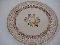 """Vintage Johnson Bros Old Granite Fruit Dinner Plate, 10"""" Diameter"""