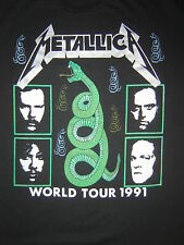 Vintage Concert T-Shirt METALLICA 91 QUEENSRYCHE SOUND GARDEN NEVER WORN/ WASHED