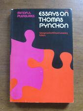 ESSAYS ON THOMAS PYNCHON by Levine & Leverenz   -1st printing PB 1976 NF  V.