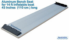 Aluminum bench seat for 14 ft inflatable boat dinghy 43 inches long ZODIAC AVON