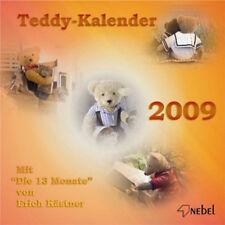 Teddy Kalender 2009 (Kalendarium wie 2015) NEBEL Verlag OVP Erich Kästner Text