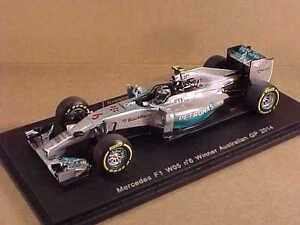 SPARK #S3087 1/43 Resin Mercedes F1 W05, Winner 2014 Australian GP, #6, Rosberg