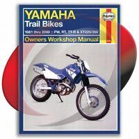1999-2000 Yamaha TT-R225 Haynes Repair Manual 2350 Shop Service Garage