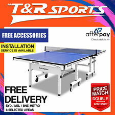 25MM DOUBLE HAPPINESS TABLE TENNIS TABLE FREE GIFT PACK RRP $899.99 FREE POST*