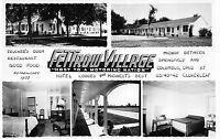 Real Photo Postcard Multiple Views Fettrow Village in Cloverleaf, Ohio~110388