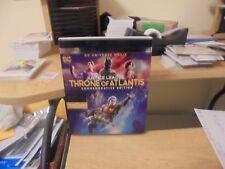 4K Ultra HD + Blu Ray + Digital Movie Justice League Throne of Atlantis PG-13