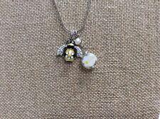 BRIGHTON NATURAL WALK Charm Bee Flower SHORT Charm NECKLACE NWtag