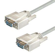 1,8m VGA Monitorkabel Monitor Kabel Beamer Pc Tv SUB-D Stecker ca. 2m
