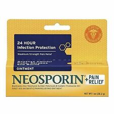 Neosporin Plus Pain Relief Maximum Strength First Aid Antibiotic Ointment 1 oz