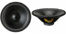 "NEW (2) 12"" Woofer Speakers.8ohm.Twelve inch Bass.Home Audio.Replacement PAIR."