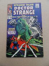 Strange Tales 166 . J . Steranko . Marvel 1968 . FN