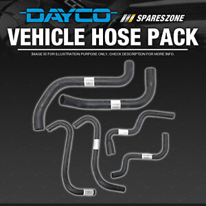 Dayco Radiator Hose Kit for Ford Courier PE 2.5L 12V Turbo Diesel WLAT