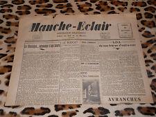 Journal MANCHE-ECLAIR, éd. du Sud de la Manche - n° 52, 28/12/1946