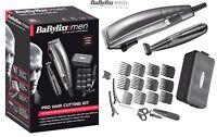 BaByliss 7447BU Pro Hair Clipper Trimmer Kit For Men High Performance /Brand New