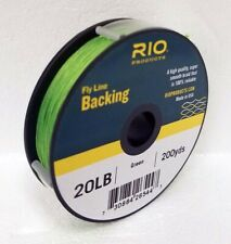 Rio 20 Lb 200 Yards Dacron Backing In Green Fly Reel Backing - Free Us Ship