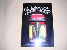 """""""jukebox art"""" ein hochwertiges postkartenset, mit brillianten jukeboxphotos."""