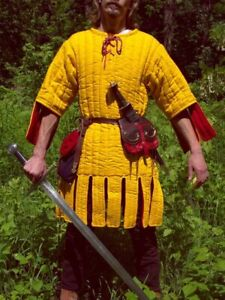 yellow GAMBESON WITH REMOVABLE SLEEVES yellow