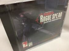 Tom Clancy's Rainbow Six Rogue Spear Mission Pack Urban Operations PC New
