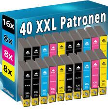 40 XXL TINTE PATRONEN für Epson WF2510WF WF2520NF WF2530WF WF2540WF SET DRUCKER