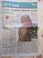Richard GOTAINER : ce grand enfant de 70 ans  - 11/10/2018 - Saperlipopette -