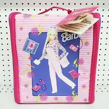 Rare 1998 Mattel Barbie Wiz Too Locker Organizer Bag