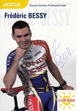 Frederic Bessy (FRA) Gran Premio di Lugano 2004 original signiert/signed !!!