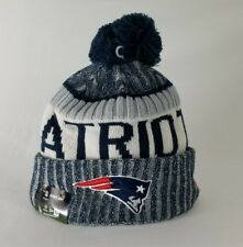 Authentic New England Patriots New Era 2017-2018 NFL On Field Beanie Knit Hat