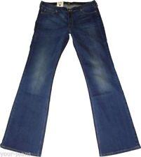 Damen-Bootcut-Jeans aus Denim mit niedriger Bundhöhe (en) Leola
