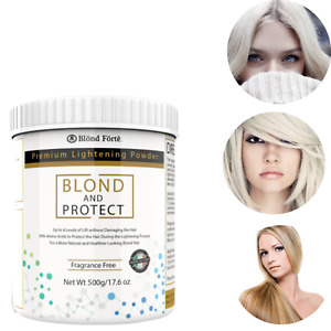 1.1 Pound Tub 8+ Level Bleaching Powder/Lightener with Amino Acids Made in Italy