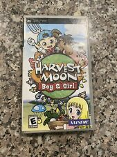 Harvest Moon: Boy & Girl (Sony PSP, 2007) CIB Complete With Manual
