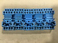 Lot Of 5 Finder 94.44.1 Relay Sockets Base Socket 7A 300V #106C19