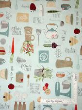 Mixer Farm Kitchen Farmhouse Cotton Fabric Wilmington Freshly Picked By The Yard