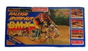 Vintage Waddingtons Raleigh Burner BMX Game (1985) - Missing The Poster