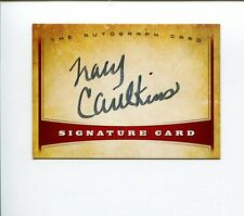 Tracy Caulkins 3x US Olympic Gold Medal Swimmer Signed Autograph Card
