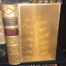 (1866) Works of William Shakespeare, vol VII, 2nd Ed; Dyce,  Leather. MACBETH