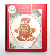 Lenox Home for the Holidays Gingerbread Spoon Rest 870022 New in Box