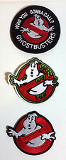 """Ghostbusters Movie Series 2.5"""" to 3.5"""" Logo Patch Set of 3 (GBPA-Set-3)"""