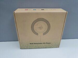 KC-806 Bluetooth V4.2, FM Radio Wall Mounted CD Player.