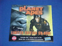 PLANET OF THE APES MOVIE PROMOTIONAL LIMITED EDITION CD-ROM charlton heston!